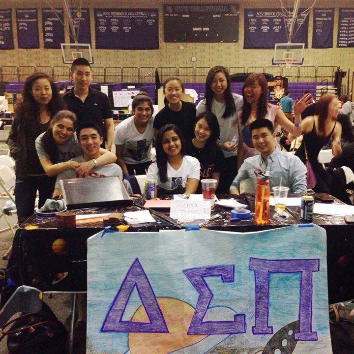 Option 2 – DSP Brothers raise awareness for American Cancer Society and support NYU's tradition of Relay for Life